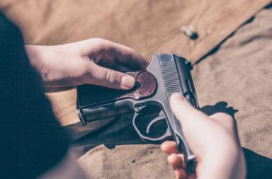 Otkradnaha 4 pushki I pistolet