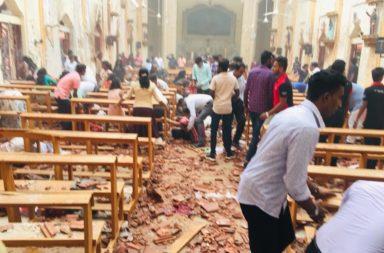 Seria eksplozii uiha nad 100 dushi po vreme na Velikdeska liturgia