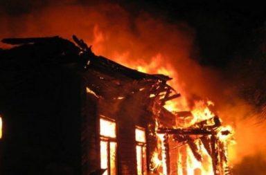 Chovek izgoria jiv v doma si