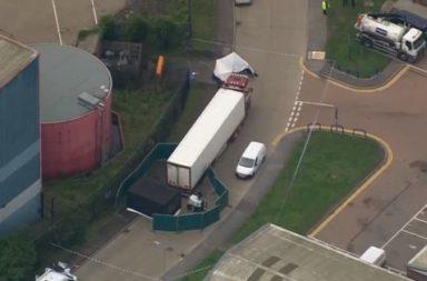 Zaradi tragediata s kamiona-kovcheg Belgia zatvaria parkingi