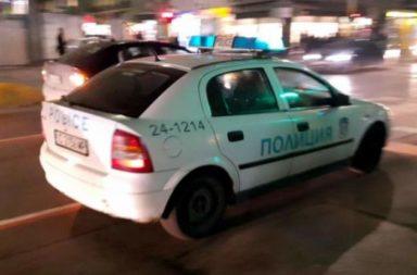gonka s policia