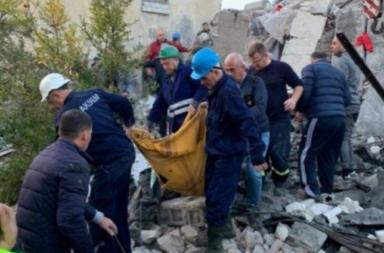 Tragediata sled zemetresenieto v Albania e goliama
