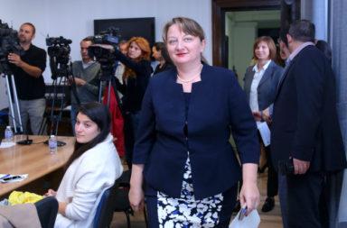 Noviat sotsiaslen minister e Denitsa Sacheva
